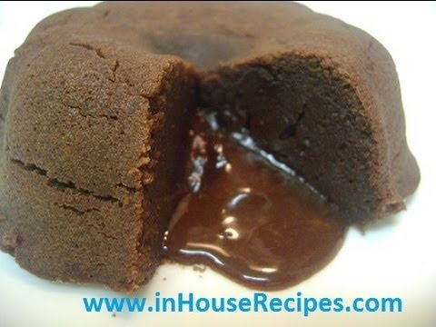 How To Make Molten Chocolate Lava Cake In Pressure Cooker