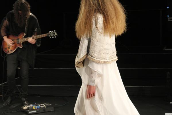 #LelaJacobs' breathtaking reverse vintage furs #NZFW