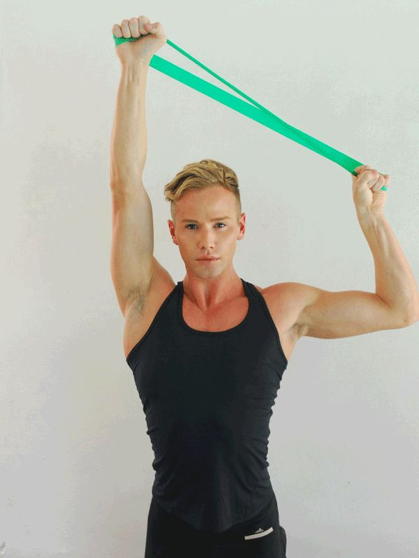 72 best images about Resistance Band Exercises on Pinterest