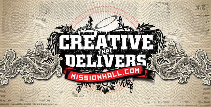 Billboard design – Creative that delivers. Mission Hall Wellington New Zealand