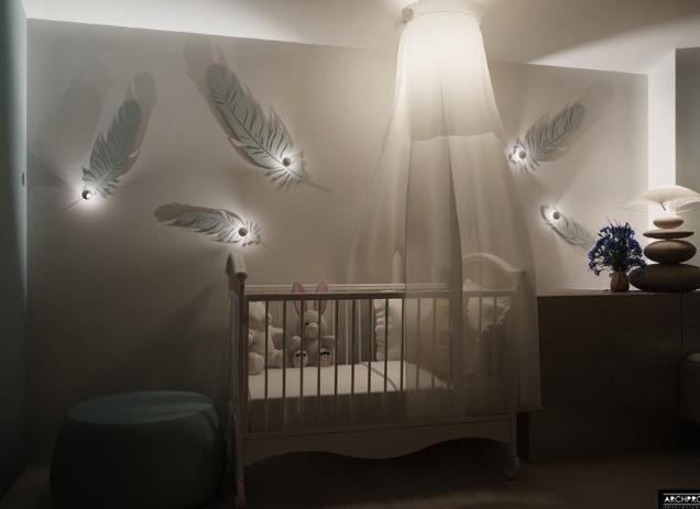 Origineel idee voor je baby kamer