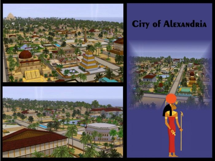 New World Alexandria by Judy Sims - Sims 3 Downloads CC Caboodle