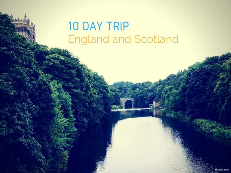 I have just returned home from a 10 day trip to England and Scotland. Here's my itinerary together with costs of hotels and trains on my trip for some inspiration.