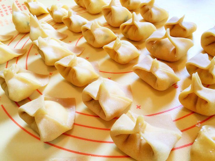 DIY Homemade Tortellini by hand