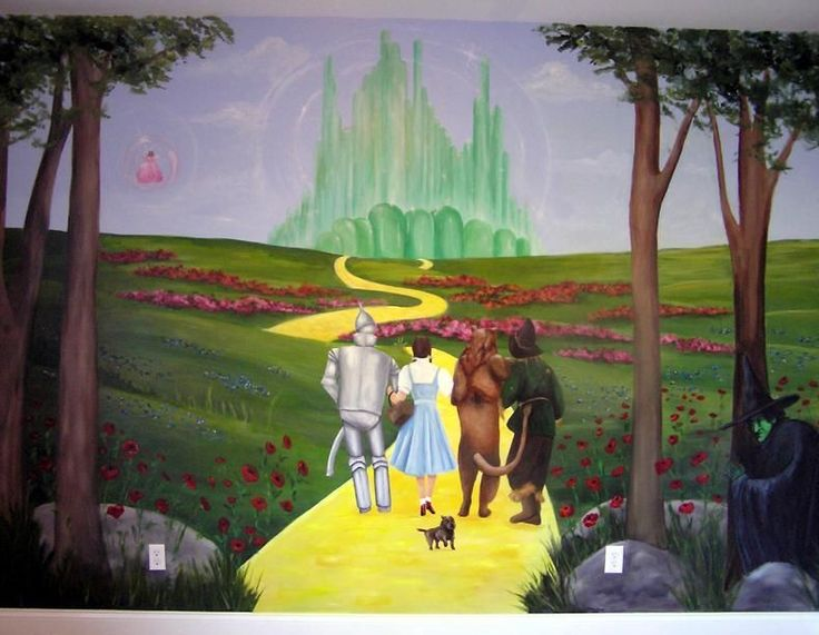 Wizard Of Oz Murals   Google Search Part 38