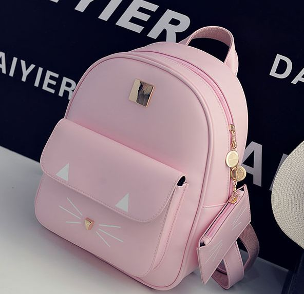 "Cute cartoon cat backpack   Coupon code ""cutekawaii"" for 10% off"