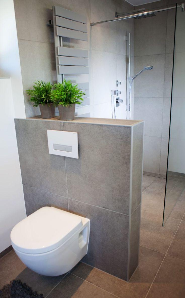 WC hinter Vormauerung