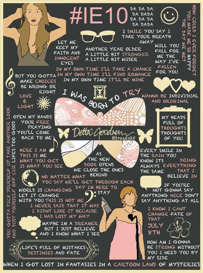 #InnocentEyesTurns10...Lyrics to Live by
