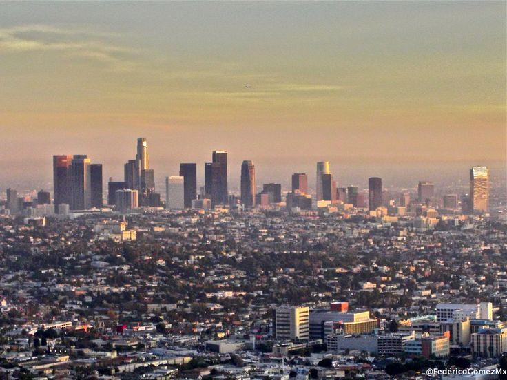 https://flic.kr/p/Di1iJd | Skyline Los Ángeles | Vista desde Griffith Park.