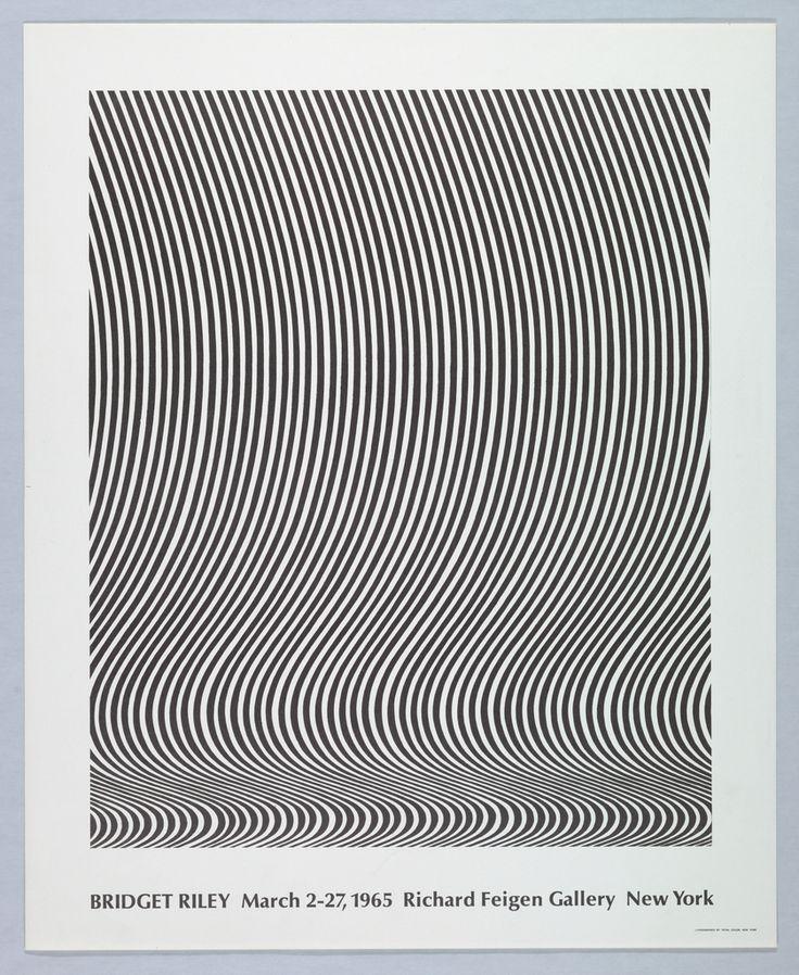 Bridget Riley, Richard Feigen Gallery, New York, 1965