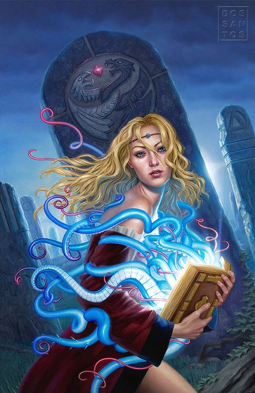 Book of Magic, por Daniel Dos Santos