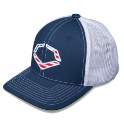 EvoShield Navy USA Flex-Fit Hat