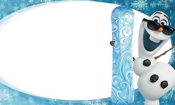 Etiquetas escolares de Frozen - Elsa, Anna y Olaf