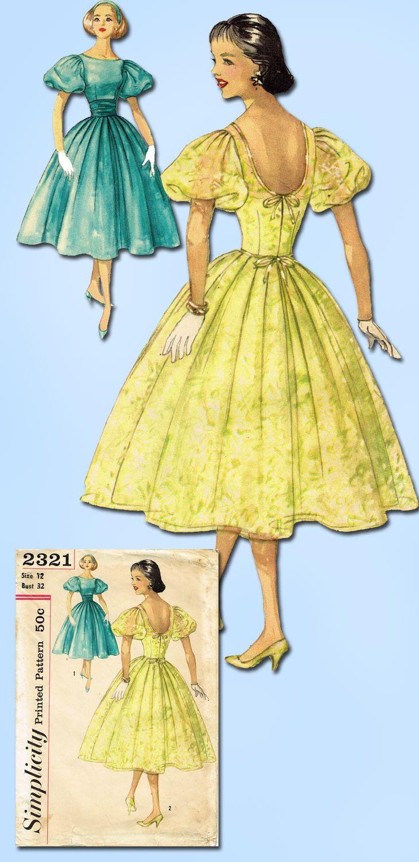 Best 25+ C. 1957 Party Dress images on Pinterest | Vintage kleider ...