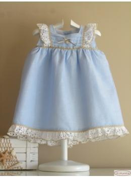 vestido bebe cielo de yoedu ropa para ninas vestidos para