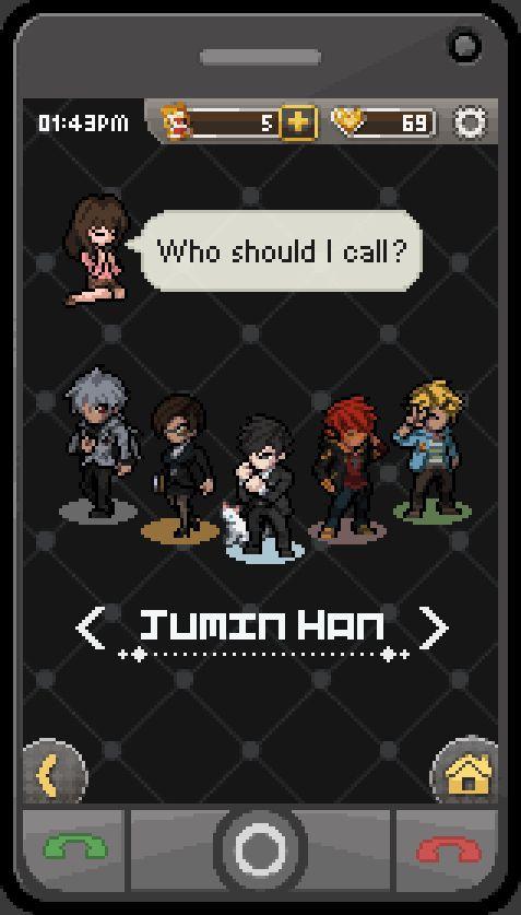 こんにちは!   [Pixel Art] Mystic Messenger /    수상한 메신저     Who...