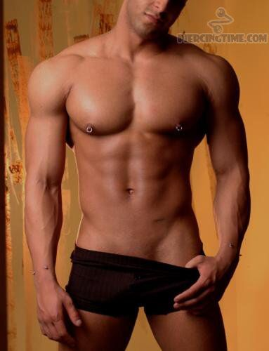 146 best guys with pierced nipples images on pinterest for Men nipple tattoo