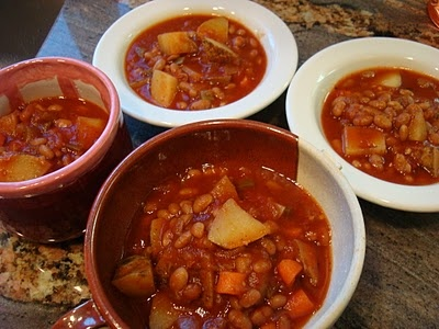 CROCKPOT: Hearty Vegan Southwestern Sweet & Spicy Soup