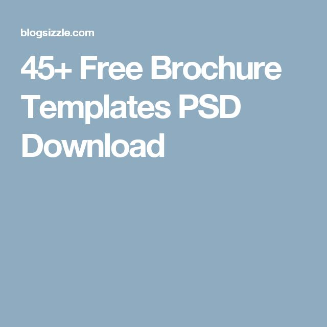 25+ spraakmakende ideeën over Free brochure op Pinterest - free brochure templates word