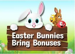 #GoneBingo is all filled with Easter Bunnies this April to let you grab £ 90 bonus.