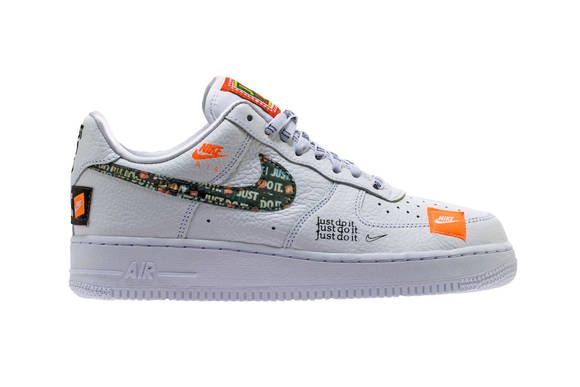 """A New Nike Air Force 1 Low Is Destined for The """"Just Do It"""" Pack ..."""