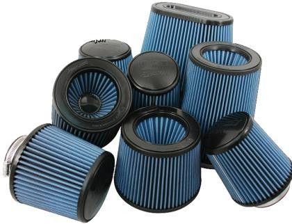 Injen High Performance Air Filter - 5 Black Filter 6 1/2 Base / 8 Tall / 5 1/2 Top