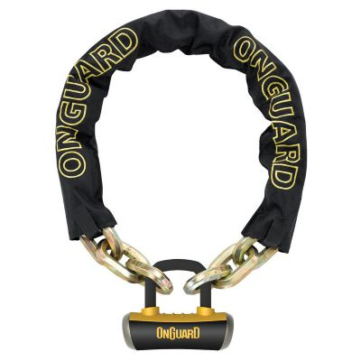 OnGuard BEAST 8016L CHAIN Lock. *X4P Quattro Bolt Locking Mechanism**Z-CYL Technology*