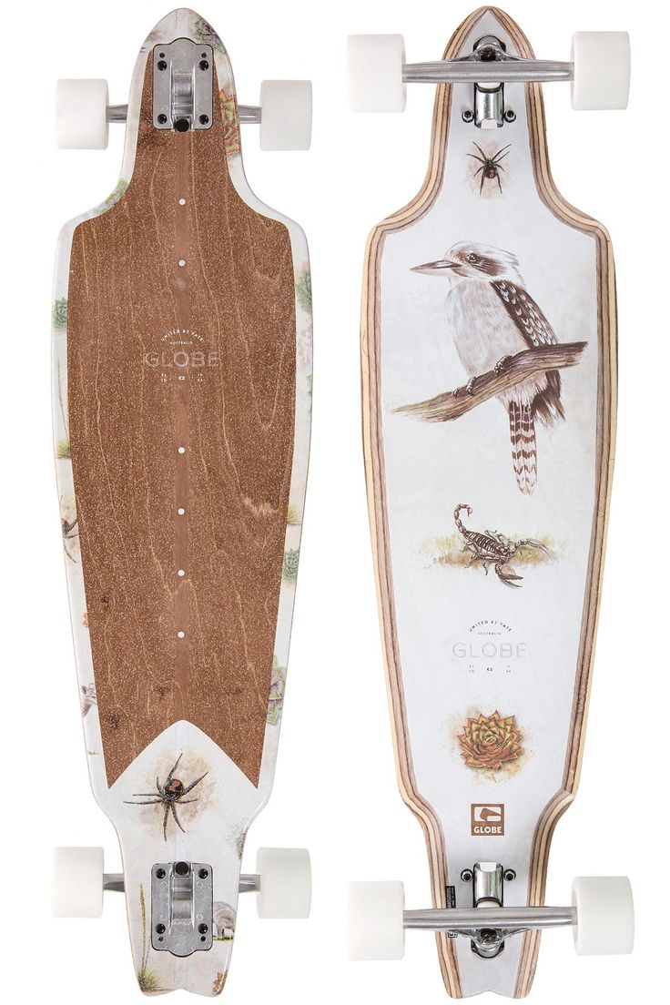 "Globe Prowler 38,5"" (97,8cm) Complete-Longboard (dark maple outback)"