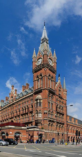 St Pancras Railway Station, London -Extra Hint: Double click on the photo to get or sell a travel itinerary to London...feb16