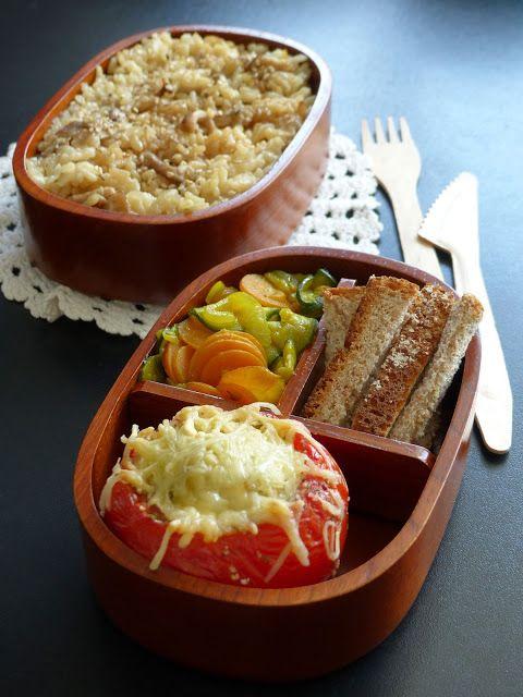 Tomates surprises! | Recettes pour mon bentô