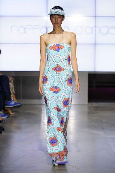 Raffaela D'Angelo at Milan Spring 2015