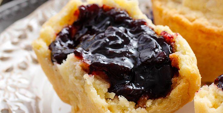 A mis pacientes siempre les digo que es bueno tener opciones saludables a mano, ¡como estos deliciosos muffins rellenos!
