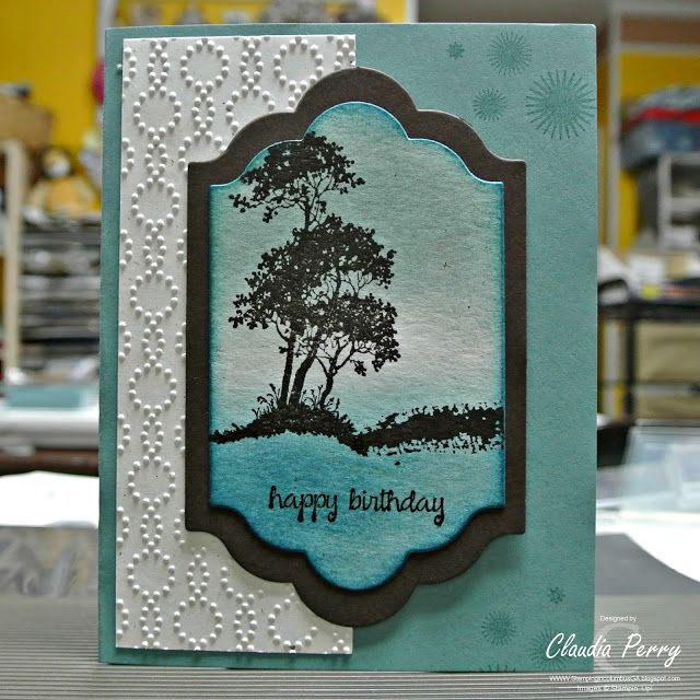 Stampin' Up!, Stamp-a-Stack, Serene Silhouettes