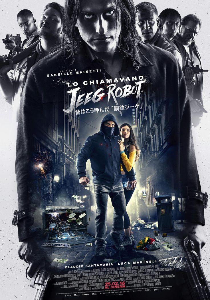Lo chiamavano Jeeg Robot, il film con Claudio Santamaria e Luca Marinelli, dal 25 febbraio al cinema.