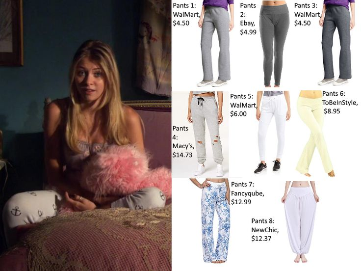 "Jenny Humphrey, played by Taylor Momsen, appeared in Gossip Girl episode 1×02, ""The Wild Brunch."" She wore anchor sweatpants. Here's how you can get her look for less! Shop t…"