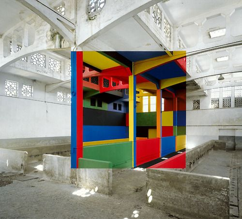 1 of 2  #Art #Georges Rousse