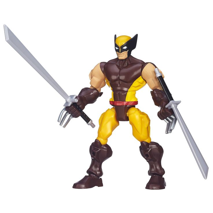 Marvel Super Hero Mashers Wolverine Figure. Super Hero Mashers Wolverine figure is totally customizable. Head, arms, and legs detach. Give him different superhero parts from other Super Hero Mashers figures sold separately. Includes figure.