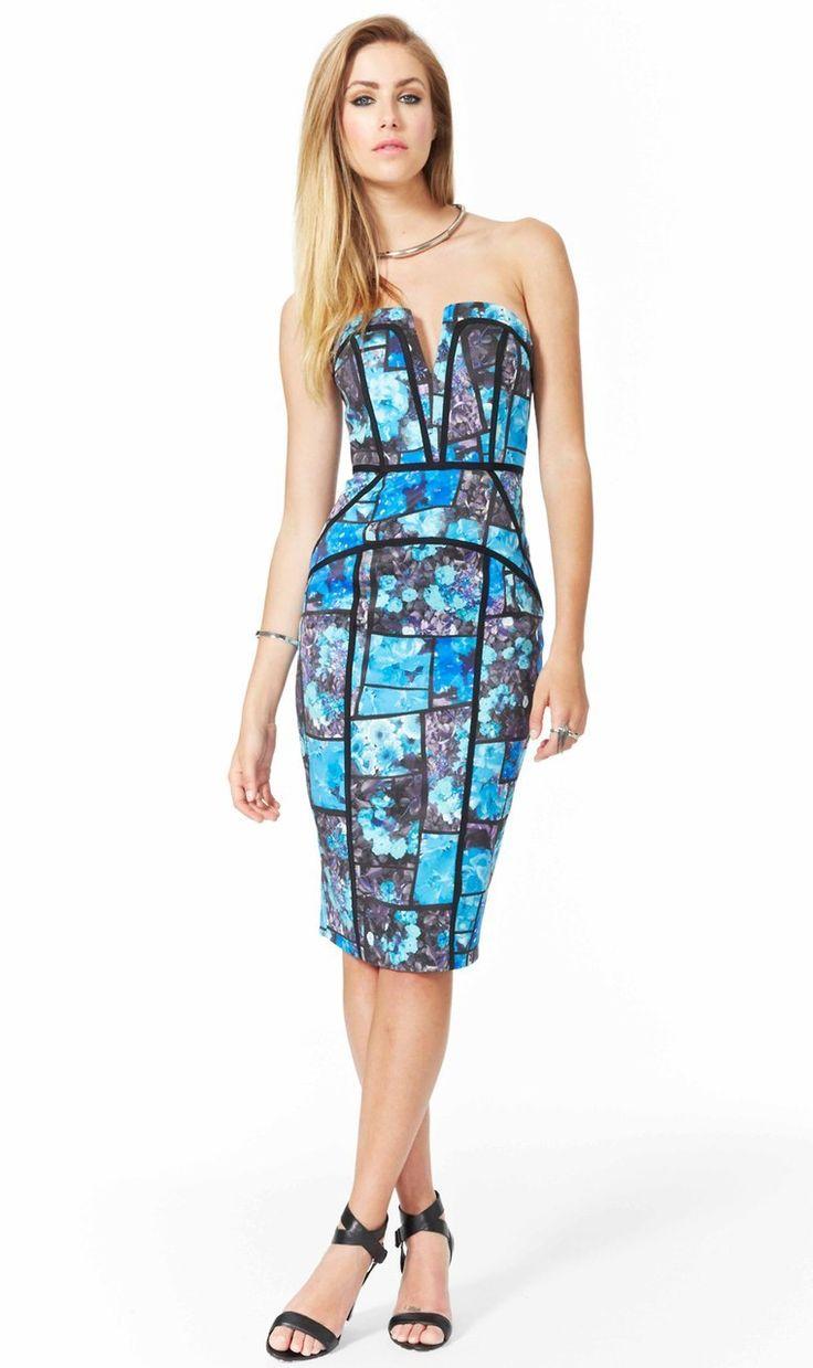 AlibiOnline - Puzzled Primrose Strapless Dress by COOPER ST, $175.95 (http://www.alibionline.com.au/puzzled-primrose-strapless-dress-by-cooper-st/)
