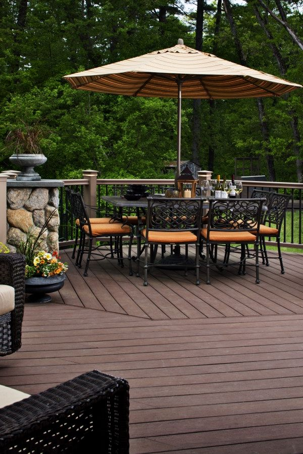 12 Beautiful Deck Plans you might consider for your yard Deck