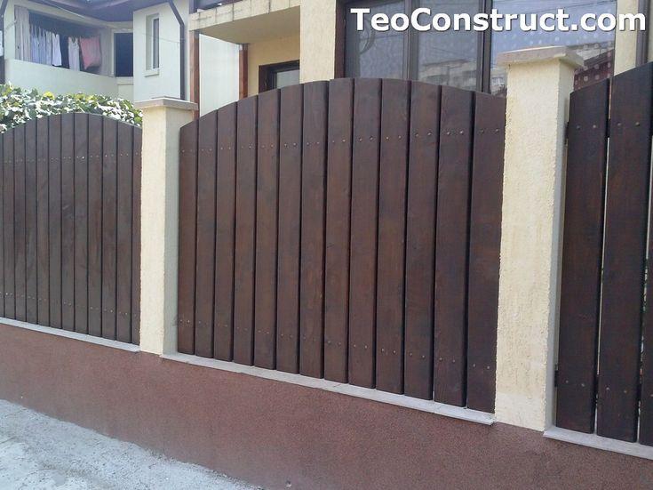 Garduri din lemn Oradea 11