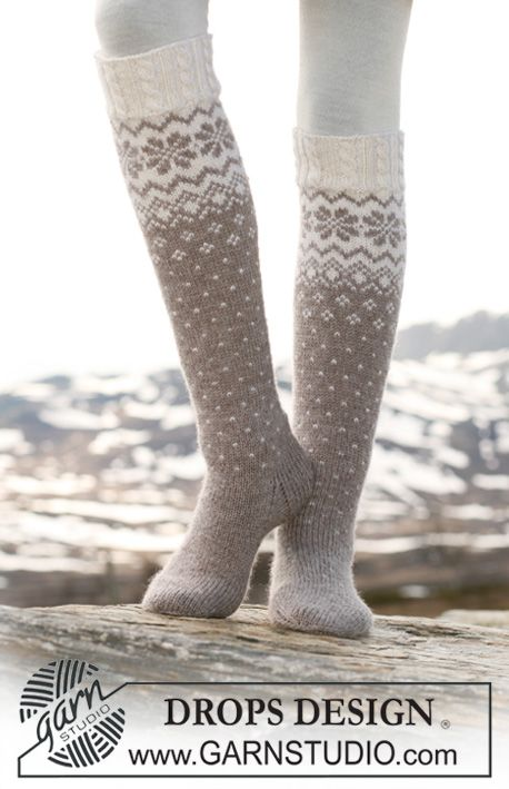 I'm now starting a new project. These would be my first pair of knitted fair isle socks with a Norwegian pattern and cables.