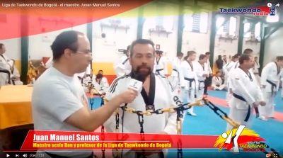 El maestro de Taekwondo Juan Manuel Santos nos habla sobre poomsaes superiores y su filosofía.