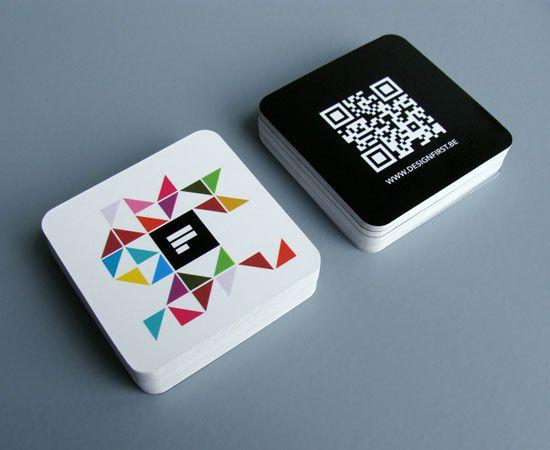 Visitenkarten - individuelle Stanzung - QR Code - www.bce-online.com/de