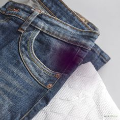 How to Remove Ink Stains from Jeans: 13 Steps - wikiHow http://www.wikihow.com/Remove-Ink-Stains-from-Jeans