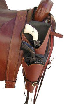 Saddle Mounted Holsters