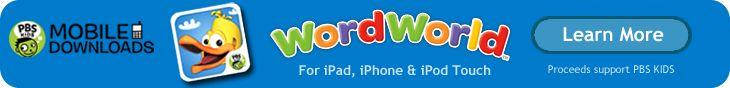 WordWorld | PBS KIDS--Kinders