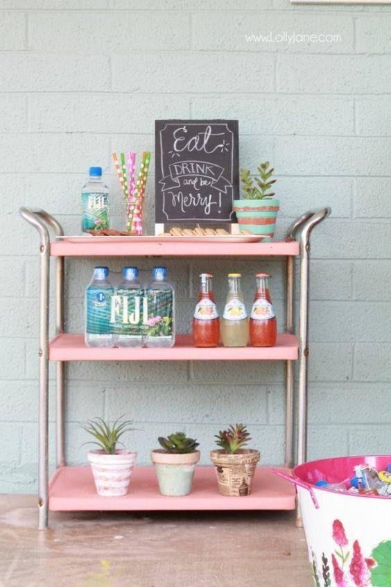 Outdoor Bar Carts And Entertaining Ideas | Domino