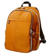 Ikea Upptäcka backpack in yellow-orange: ikea.com