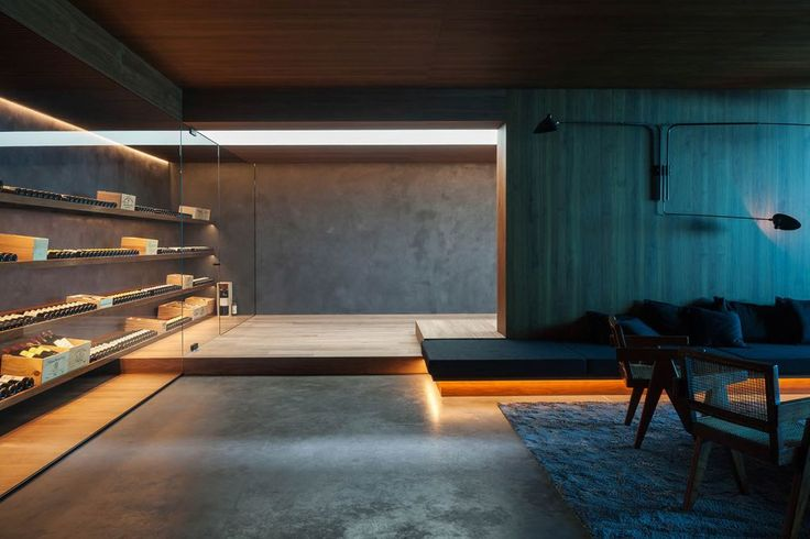 This Stunning Belgian Bachelor Pad Has an Awesome Underground Lair