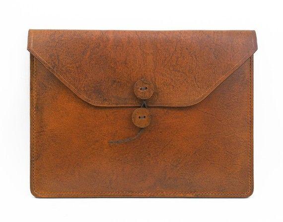 Leather iPad case. #vritualsuitcase